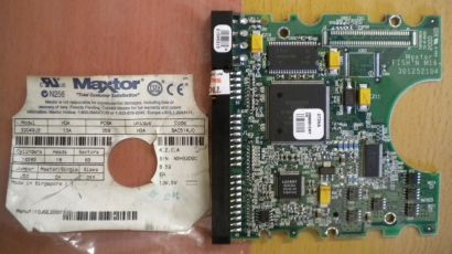 Maxtor 32049U4 BAC51KJ0 IDE 20 GB PCB Controller Elektronik Platine* fe94