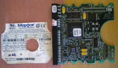 Maxtor 52049U4 DA6207V0 IDE 20 GB PCB Controller Elektronik Platine* fe99