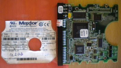 Maxtor 91021U2 FA520S60 IDE 10.2 GB PCB Controller Elektronik Platine* fe100