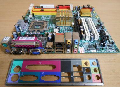 Acer 8I945AE Rev1.1 Gigabyte Mainboard +Blende Veriton Sockel 775 SATA PCIe*m715