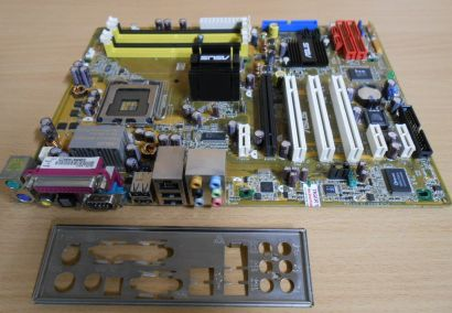 ASUS AiLife Series P5LD2 Rev 1.02 Mainboard +Blende i945P Sockel 775 PCIe* m717