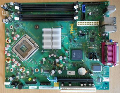 Dell Optiplex 745 Mainboard 0WK833 Rev A00 Sockel 775 Intel Q965 PCIe VGA* m718