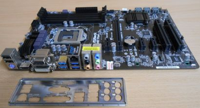 ASRock H87 Pro4 Rev 1.03 Mainboard +Blende Intel H87 Sockel 1150 PCIe DDR3* m719