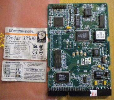 WD Caviar WDAC32500-07H IDE 2559.8 MB PCB Controller Elektronik Platine* fe131