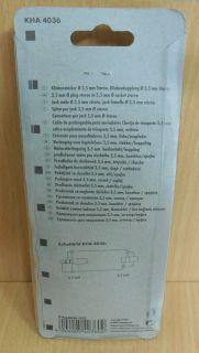 Schwaiger KHA 4036 5m Kopfhörer Klinkenverlängerung 3,5mm Stecker Buchse* so555