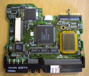 IBM DCAS-34330 09J1037 SCSI 4330MB PCB Controller Elektronik Platine* fe145