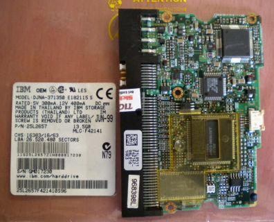 IBM DJNA-371350 E182115 S IDE 13.5GB PCB Controller Elektronik Platine* fe150