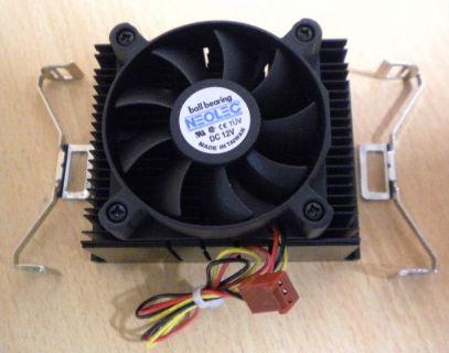 Neolec Whisper Intel Sockel 423 60mm 3-pol Prozessorkühler CPU Lüfter* ck157