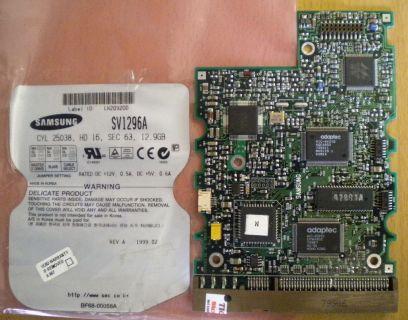 SAMSUNG SV1296A 12.9GB IDE PCB Controller Elektronik Platine* fe162