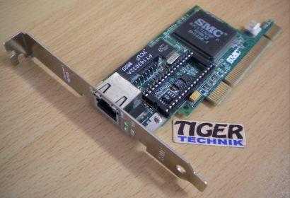 SMC EtherPower II 10 100MBps 00E029 2986DD 734-004 3998 PCI Netzwerkkarte* nw76