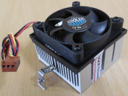 Cooler Master Sockel AMD 462 A Intel 370 50mm 3-pol CPU Lüfter* ck176