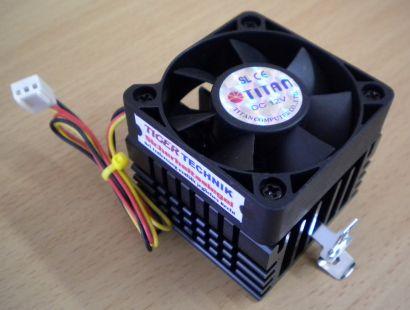 TITAN Sockel AMD 462 A Intel 370 50mm 3-pol Prozessorkühler CPU Lüfter* ck190