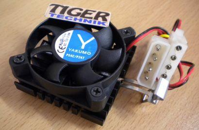 YAKUMO P54C P24T 50mm Molex Sockel AMD 462 A Intel 370 CPU Lüfter Kühler* ck193