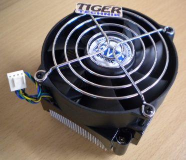 HP 435070 001 Intel Sockel 775 92mm 4-pol Alu+Ku Compaq dc7700 CPU Lüfter* ck200
