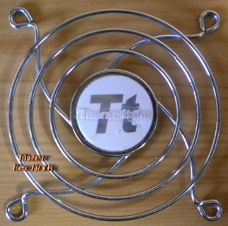 Fan Grill 80 x 80mm 8cm Lüfter Grill Gitter silber THERMALTAKE* pz271
