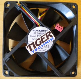 Foxconn PV902512L 92mm 3-pol Gehäuse Lüfter Fan* gl48