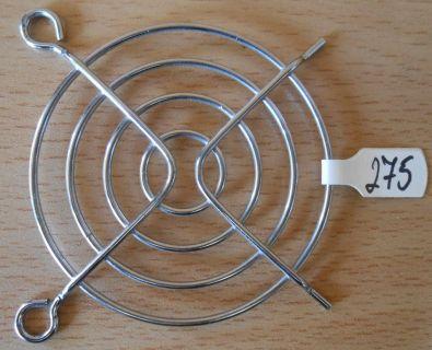 Fan Grill 60 x 60mm 60cm Lüfter Grill Gitter silber Sondermodell* pz275