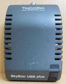 TechniSat Digital SkyStar USB Plus USB SAT TV Karte Techni Sat Sky Star* tk39