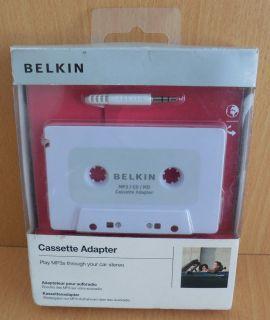 Belkin KFZ Adapter Kassette CD MD MP3 iPod tragbare Geräte an Autoradio* so643