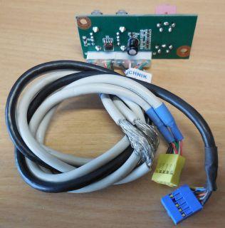 Packard Bell ZEU-PE2 iMedia 2410 USB 2.0 Mic Audio Front IO* pz279