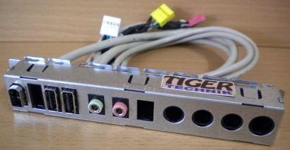 HP Pavilion Compaq 15051-T1-REV A USB + Audio + FireWire Front IO Panel* pz289