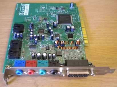 Creative Sound Blaster128 CT4790 PCI 16-bit 48KHz 4 Channels 3D Soundkarte* s60