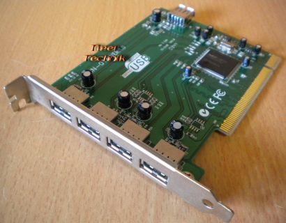 5-Port Hi-Speed USB2.0 PCI Karte Adapter Card Verschiedene Hersteller Marke*sk08