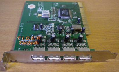 4-Port Hi-Speed USB 2.0 PCI Adapter Card Verschiedene Hersteller Marken* sk11