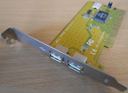 2-Port USB PCI Karte Adapter Card Verschiedene Hersteller Marken* sk38