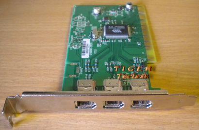 3-Port Adapter Card 3x FireWire IEEE 1394a Versch Hersteller Marken* sk27