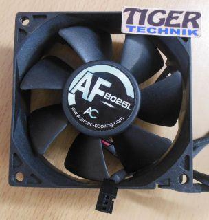 Arctic Cooling AF8025L 1500RPM 80mm 3-pol 12V 0.1A Gehäuse Lüfter* gl54