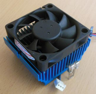 Sockel AMD 462 A Intel 370 60mm 3-pol Prozessorkühler CPU Lüfter blau* ck235