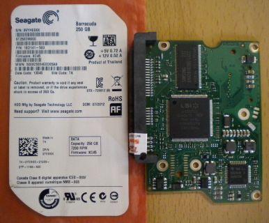 Seagate Barracuda ST250DM000 SATA 250GB PCB Controller Elektronik Platine* fe178