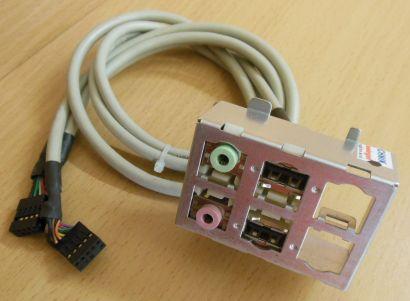 Tarox Enlight 34CB001767 USB und Audio In-Out Front IO Panel* pz321