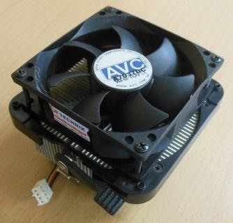 AVC Sockel AMD 939 949 754 AM2 AM2+ AM3 80mm 4-pol CPU Kühler* ck267