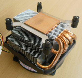 AVC Intel Sockel 775 92mm 4-pin CPU Kühler Alu + Kupferboden-Rohre* ck269