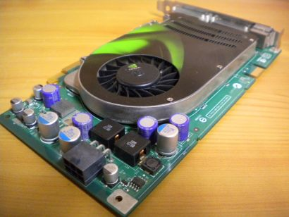 nVIDIA GeForce 8600 GTS p401 CN-0TP073 256MB 128Bit GDDR3 Dual DVI VIVO* g317