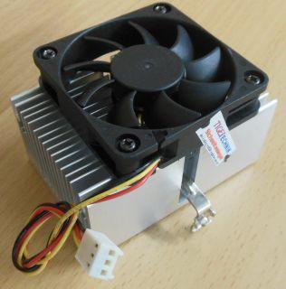 Sockel AMD A 462 Intel 370 60mm 3-pol Prozessorkühler CPU Lüfter* ck273