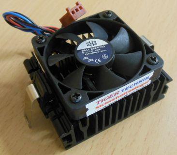 Sockel AMD A 462 Intel 370 50mm 3-pol Prozessorkühler CPU Lüfter* ck281