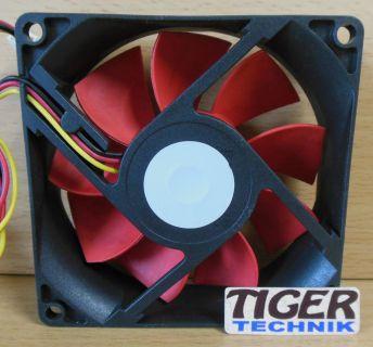 Xilence RED WING 80mm Computer PC Gehäuselüfter* GL72