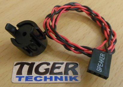 Systemax Booksize PC Systemlautsprecher Gehäuse Speaker Pieper 28015* pz345