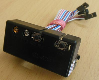 Systemax Booksize PC Power -Reset Schalter LEDs BL-634 28015* pz346
