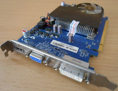 Asus EAH3650 HP PN 5189-3945 512MB 128Bit DDR2 PCI-E 2.0 VGA DVI HDMI* g320
