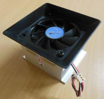 ASUS P4S8L Pundit Sockel 478 Prozessorkühler CPU Lüfter 70mm* ck283