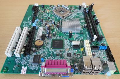 Dell Optiplex 330 Mainboard 0KP561 Rev A01 Sockel 775 PCIe DDR2 Intel G31* m749