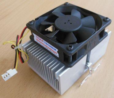 Sockel Intel 370 AMD A 462 70mm 3-pol Prozessorkühler CPU Lüfter* ck292