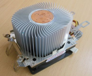 AMD Sockel AM2 AM2+ AM3 745 939 940 80mm 3-pol CPU Lüfter AluKu* ck293
