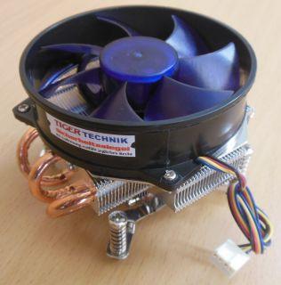 Intel Sockel 775 92mm Aluminium und Kupfer CPU Kühler blau Chieftec* ck295