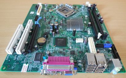 Dell Optiplex 360 Mainboard 0T656F Rev A01 Sockel 775 PCIe DDR2 Intel G31* m752