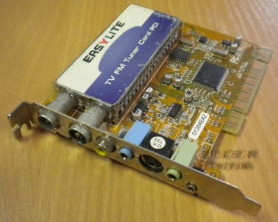 EASYLITE TV FM Tuner Card PCI 01384E42 701013824801* tk50